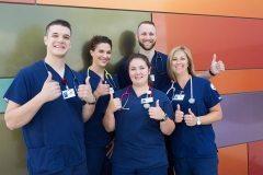 Kirtland Nursing program students