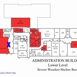 Administration Center Lower Level Shelter