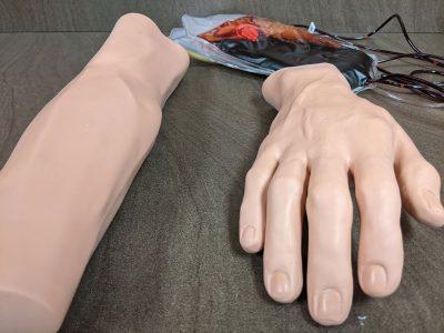 Medical Assistant Hands
