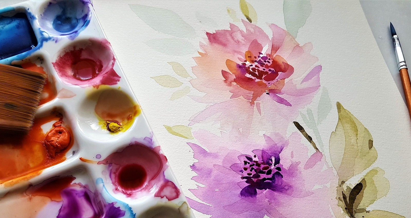 Watercolor Painting beginners and experienced