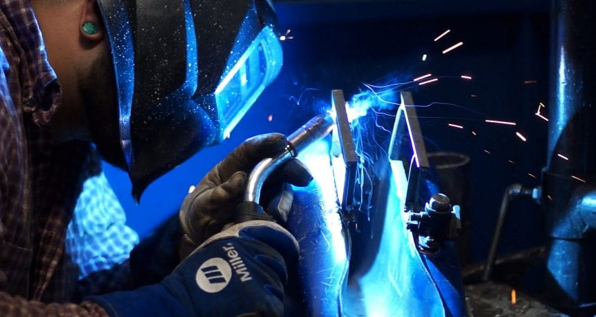 Welding and CNC jobs are hot